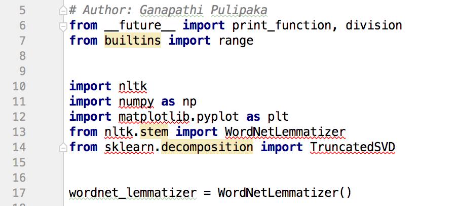 3 Ways to Apply Latent Semantic Analysis on Large-Corpus Text on